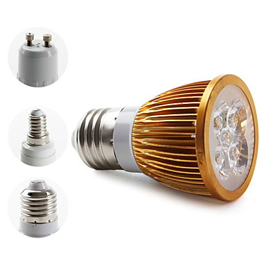 E14 / E26/E27 / GU10 W 4 High Power LED 360 LM Warm White MR16 Spot Lights AC 85-265 V