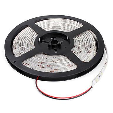 zdm® rezistent la apa 5m 25w 300x3528 smd lumina albă led lampă strip (12v)