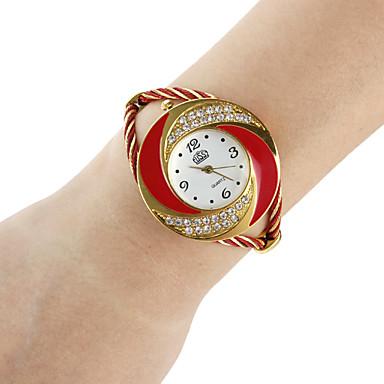 ieftine Ceasuri Damă-Pentru femei Ceasuri de lux Ceas La Modă Ceas Brățară Quartz Negru / Alb / Albastru Analog femei Sclipici Atârnat - Rosu Albastru Roz Un an Durată de Viaţă Baterie / SSUO 377
