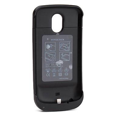 2200mah Super caso de backup fina bateria externa para samsung i9250 (preto)