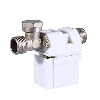 12V 0,5 inch electrovalva electric pentru gaz aer apa (alb)