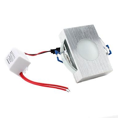 3W 55LM Blue Light Cubic Hollow LED Ceiling Bulb (85-265V)