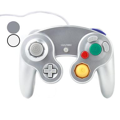 controlador de jogo com fio de choque para nintendo wii gamecube ngc e / u wii (cores sortidas)