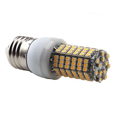 e27 138x3528 smd 7w 450lm 350-2800-3300k luz branca quente levou lâmpada de milho (220-240v)