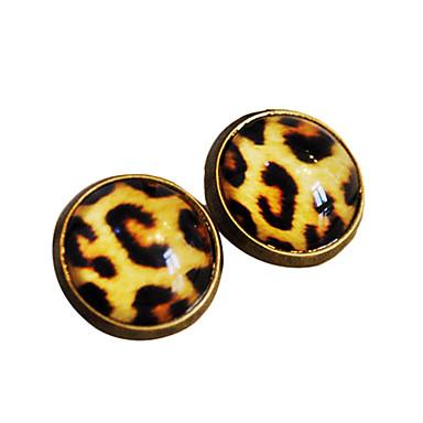 moda del leopardo anillo de impresión