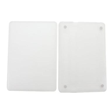 кристалл жесткий молоть песчаные защитник случае для 13,3-дюймового MacBook Pro (белый)