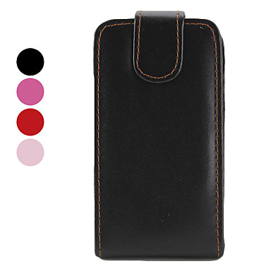 PU Leather Case with Flip Magnet Closure for iPhone 3G/3GS (Assorted Colors)