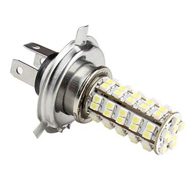 H4 4.76W 1210 SMD 6-LED White Light Bulb for Car Lamps (DC 12V)