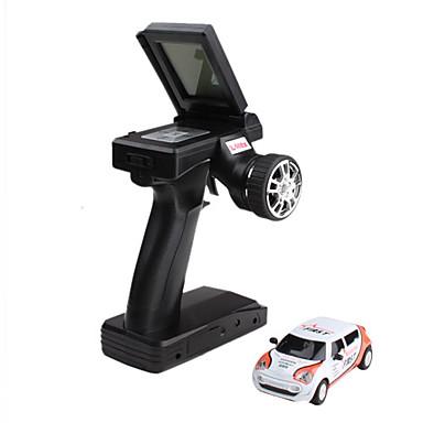 2206-3 lleno dirección direccional 2,4 g de carreras de coches 1:43 con pantalla lcd control remoto