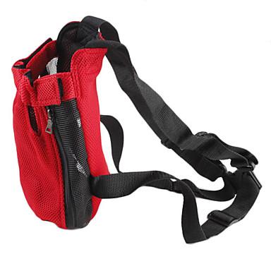 Câine Portbagaje & rucsacuri de călătorie Rucsac din față Nailon Animale de Companie  Coșuri Mată Portabil Rosu Albastru Roz Pentru animale de companie