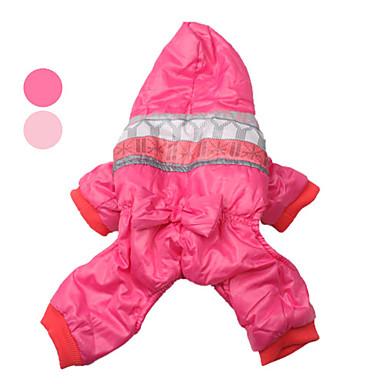 corazón bowknot estilo abrigo de algodón con capucha para perro (sl, color surtidos)