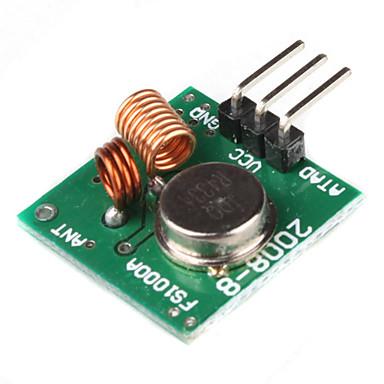 433MHz Wireless Transmitter Module Superregeneration for (For Arduino) (Green)
