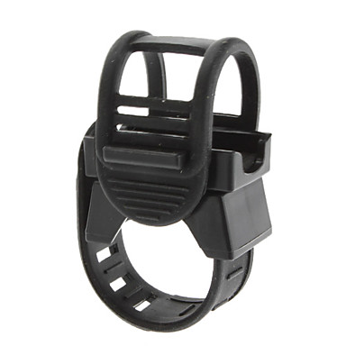 Adjustable Rubber Band Mounting Bracket for Flashlight (20-35cm)