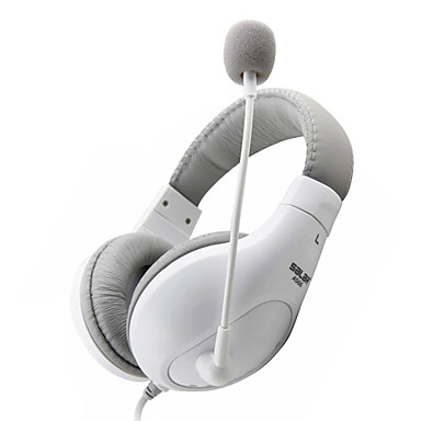 salar a566 hovedtelefon 3,5 mm i løbet øre komfort bas stereo gaming og skype med mikrofon til computer