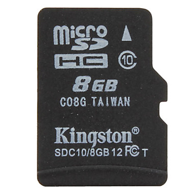 8GB Kingston Class 10 Micro SD/TF SDHC Memory Card