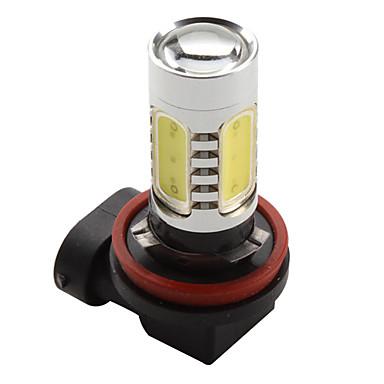 H11 7,5 W 600LM 7000-8000K White Light High-Power LED Pære til autolamper (DC 12V)