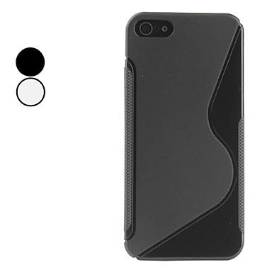 s étui souple de forme pour l'iphone 5/5s (couleurs assorties)