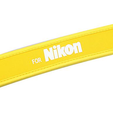 NEW yellow camera Neoprene Neck Strap for Nikon D40X D60 D70s D80 D200 B103