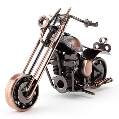 Décoration bureau en métal Moto (style aléatoire)
