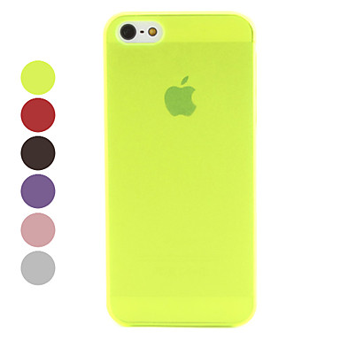 Frosted Surface Ultrathin Hard Case for iPhone 5/5S (Assorted Colors)