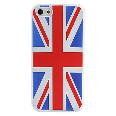 iphone 5/5s için ingiliz ulusal bayrak desen yumuşak kılıf