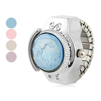 Women's Star Alloy Analog Quartz Ring Watch (Assorted Colors)