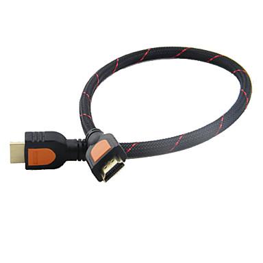 1080p 3D HDMI v1.4 Câble de connexion (30cm)