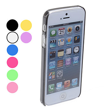 Custodia anti-urto design semplice per iPhone 5 - Colori assortiti