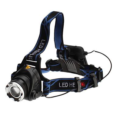3-Mode Cree XM-L T6 LED Headlamp (10w, 700LM, 4xAA)