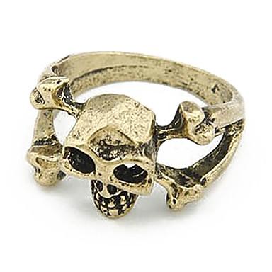 Skull And Bones anillo de aleación