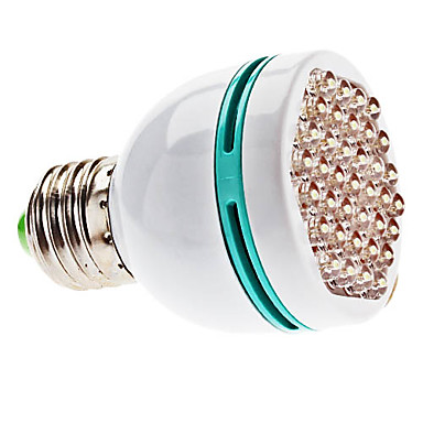 E26/E27 2 W 37 Dip LED 200 LM Natural White Spot Lights AC 100-240 V