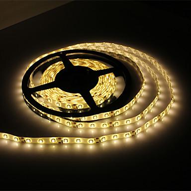 Vedenkestävä 5M 300x3528 SMD lämmin valkoinen LED-nauha (12V)
