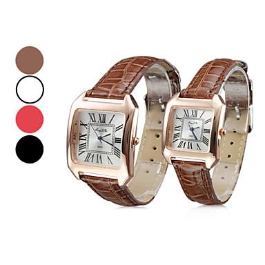 Frauen Casual Style PU Analog Quarz-Armbanduhr (verschiedene Farben)