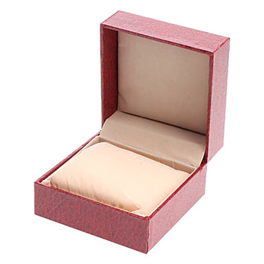 Watch Boxes Nylon leather Wood #(0.143) #(10 x 10 x 6) Watch Accessories