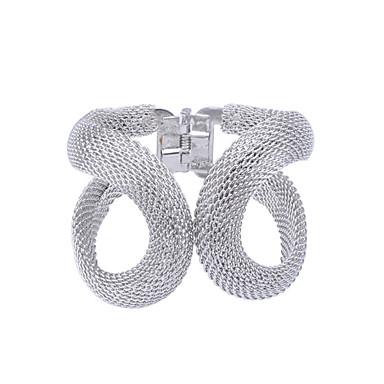 Dames Verzilverd Verguld Cuff armbanden - Zilver Gouden Armbanden Voor Feest Dagelijks Causaal