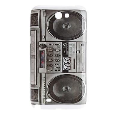 Radio Style Hard Case for Samsung Galaxy Note 2 N7100