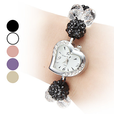 Women's Adjustable Band Style Plastic Analog Quartz Bracelet Watch (Assorted Colors) Cool Watches Unique Watches