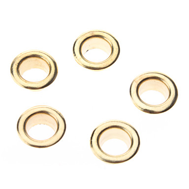 8mm Round Eyelets Golden Metal Rivet (Contain 100 Pics)