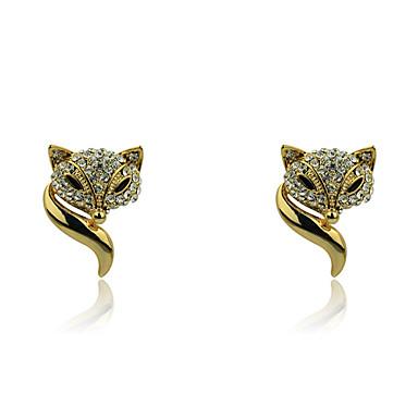 Dames Oorknopjes Kostuum juwelen Kristal Verguld Sieraden Voor Feest Dagelijks Causaal