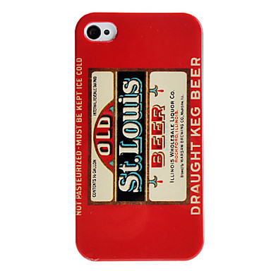 Beer Style Hard Case for iPhone 4/4S