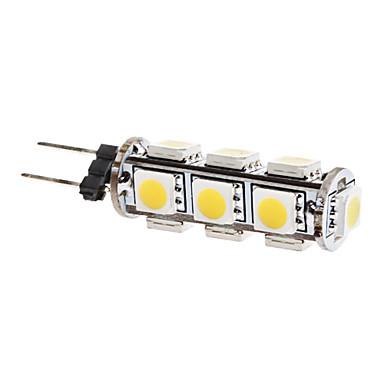 G4 LED a pannocchia T 13 LED SMD 5050 Bianco caldo 3000lm 3000KK DC 12V