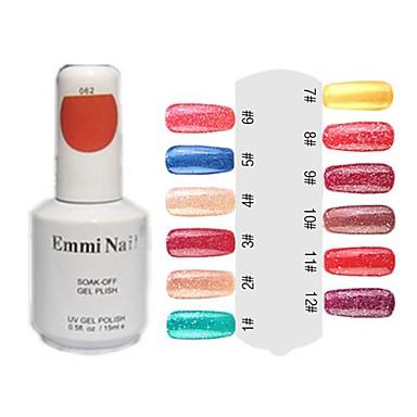 UV Color Gel Hot Sale Nail Art Nail Polish (15ml, 1 Flasche)