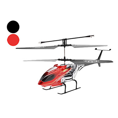 Durable 2-Channel Remote Control Helicopter (Model:S023/ Black/Red)