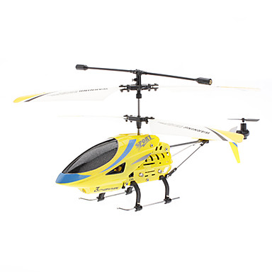 3.5-Channel Gyro Remote Control Helicopter (Model:361, Yellow)