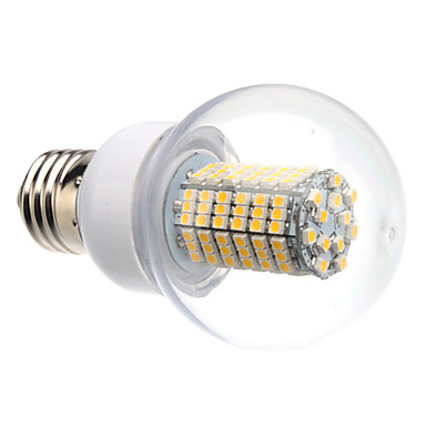 8W E26/E27 LED Globe Bulbs G60 138 SMD 3528 620 lm Warm White AC 220-240 V