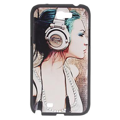 Case Modèle Beauté dur pour Samsung Galaxy N7100 Note 2