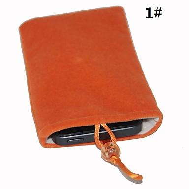 velluto di cotone sacchetto protettivo per iphone 5/5s
