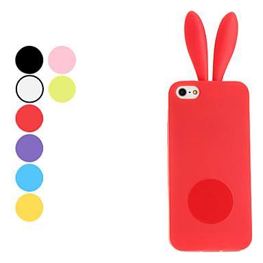 kanindesign mjukt fodral för iphone 5/5s (blandade färger)