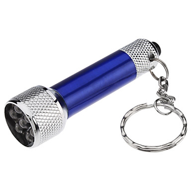 Key Chain Flashlights LED 50lm 1 Mode with Batteries Super Light / Small Size / Compact Size Everyday Use