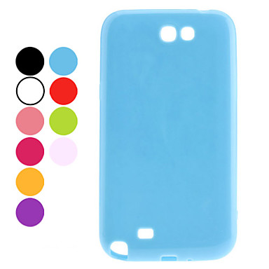Durable Plastic Samsung Mobile Phone Back Covers for N7100(9 Colors)